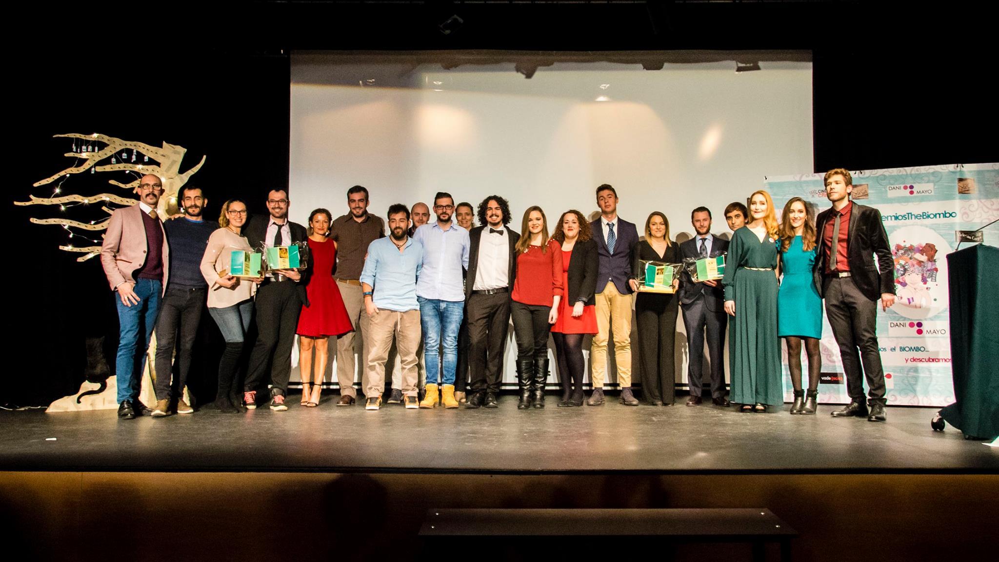 Premiados en la Gala de premios the biombo