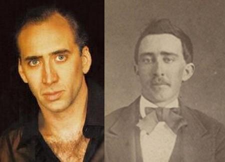 la cara de Nicolas Cage demuestra que es un vampiro