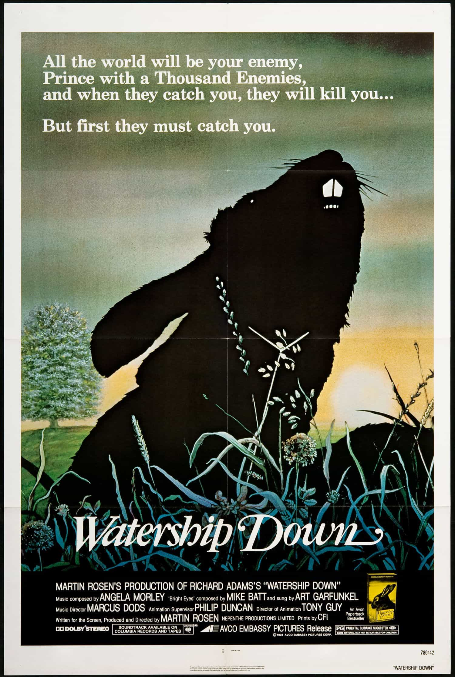 Poster Watership Down